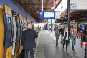 Elke tien minuten trein start met succesvolle ochtendspits