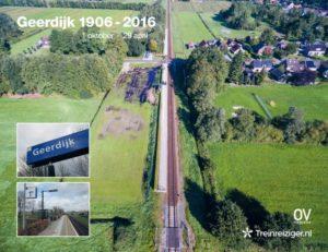 Treinkaartje Geerdijk (29 april 2016) en A3-poster: 7 euro