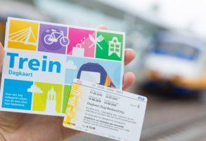 Goedkoop treinkaartje: NS Dagkaart bij Albert Heijn