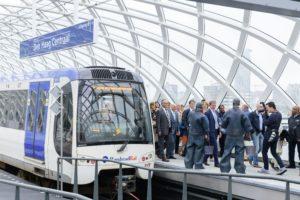 Nieuwe halte RandstadRail klaar op Den Haag Centraal