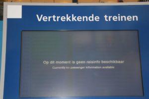 Stroomstoring legt treinverkeer Den Haag HS plat