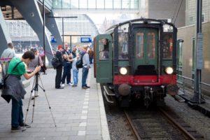 In Beeld: viering 175 jaar spoor