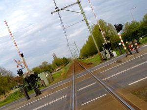 Gewonden bij botsing tussen trein en vrachtwagen Gronau
