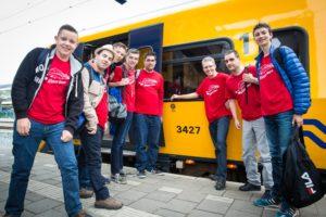 LIVE: Kampioenschap Kilometervreten per trein