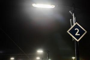 ProRail dimt lampen op rustig perron