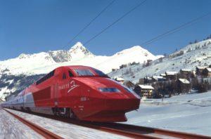 Ski-Thalys met megavertraging door koperdiefstal