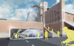 Start bouw fiets- en voetgangerstunnel onder Amsterdam Centraal