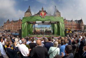 175e verjaardag gevierd met historische treinen