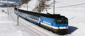 Skitrein: Wintersport Oostenrijk