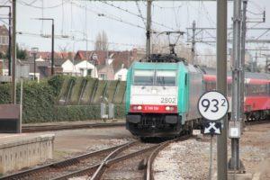 Software problemen vertragen opnieuw plannen IC Brussel