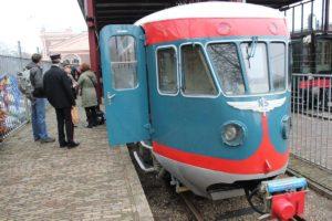 Blauwe Engel rijdt Heimwee Express