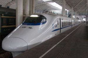 Chinese hogesnelheidstrein breekt snelheidsrecord