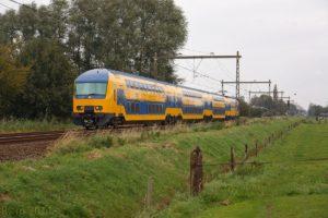 Rijdende trein verliest treinstel