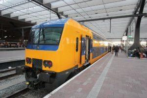 Trein naar Rotterdam