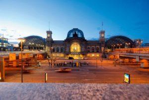Trein naar Dresden