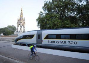 Eurostar wil tien nieuwe Europese steden gaan bedienen