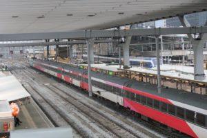 Intercity België ook in het weekend goed gevuld