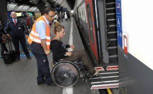 Reizigers met een functiebeperking reizen gratis bij Arriva