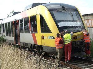 26 gewonden bij treinongeluk Duitsland