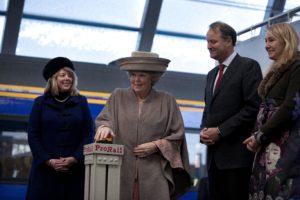 Koningin opent Hanzelijn