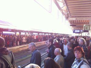 Veel vertraagde treinen door diverse verstoringen
