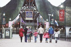 Winter Efteling met korting: trein + toegang voor € 41