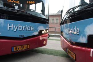 Hybride bussen voor Enschede