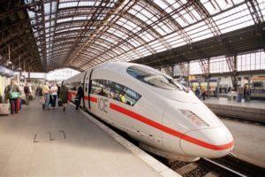 Trein naar Frankfurt: tot 8x per dag