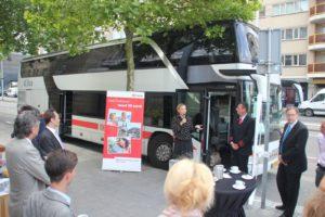 Steeds meer internationale bussen naar Nederland