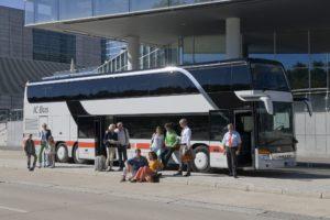 Tickets IC Bus Londen tijdelijk duurder door technische problemen