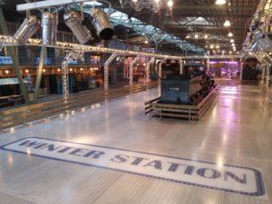 Spoorwegmuseum opent ijsbaan