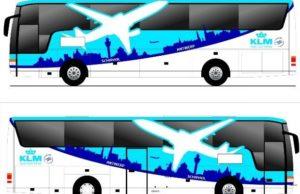 KLM busdienst naar Antwerpen vanwege overvolle treinen