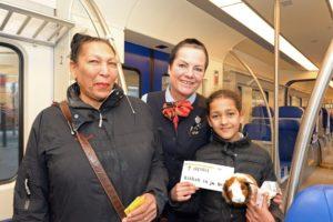Kinderen reizen gratis met de trein (NS Kids Vrij)