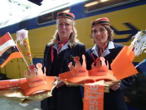 NS: 90 procent treinen Koninginnedag op tijd