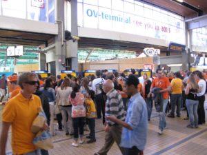 Informatie over reizen met NS-treinen op Koninginnedag