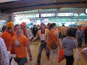 Speciale dienstregeling trein tijdens Koningsdag en Koningsnacht