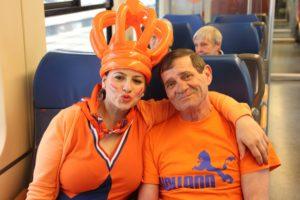 Goedkoop met de trein op Koningsdag
