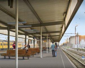 Pakketje legt treinverkeer Leiden stil