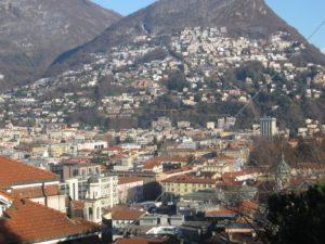 Trein naar Lugano