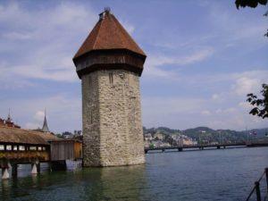 Trein naar Luzern