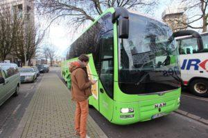 MeinFernbus: Veel beenruimte tegen scherpe prijs