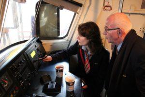 Treinmachinisten krijgen bijscholing energiezuinig rijden