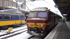 Protest tegen opheffen pendeltrein Roosendaal – Antwerpen