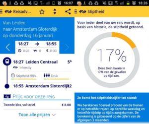 Na Spoormonitor.nl nu ook NS app uitgerust met stiptheidsmeter