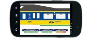Geen realtime drukte informatie meer bij NS-treinen