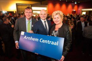 In beeld: Opening Arnhem Centraal