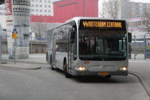Meer reizigers per OV in stadsregio Rotterdam