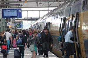 NS: Reizigersgroei in spits ruim 3 procent