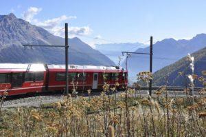 Speciale treinreis vanwege 125 jaar Rhätische Bahn