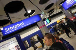 Trein Schiphol – Amsterdam: 8x per uur